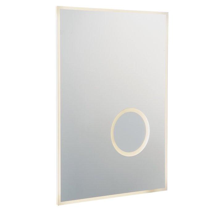 Ora - LED Illuminated Bathroom Mirror (Colour Changing Technology) & USB Shaver