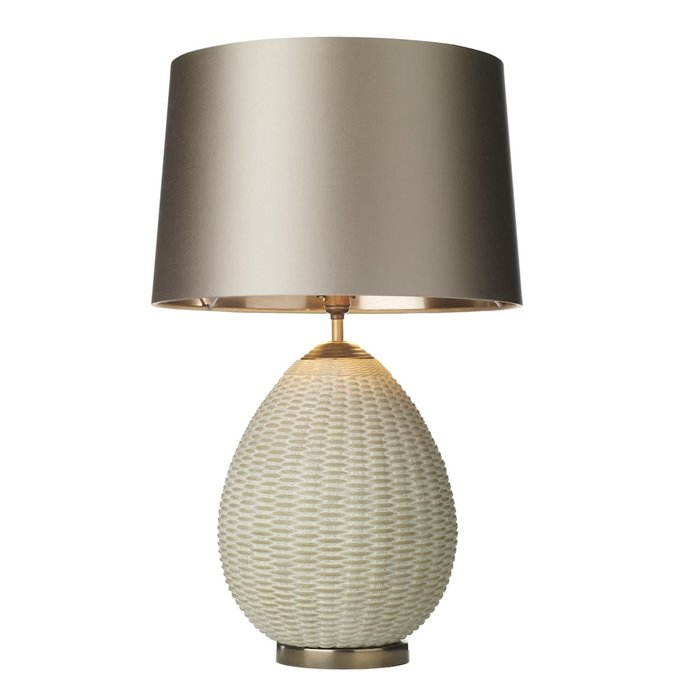 Lombok Rattan Table Lamp - David Hunt