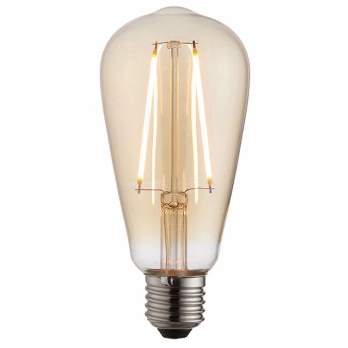 Vintage Decorative Amber Pear LED Light Bulb - 2W
