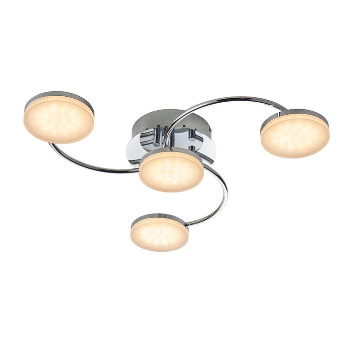 Turku – LED 4 Light Semi Flush Ceiling Light
