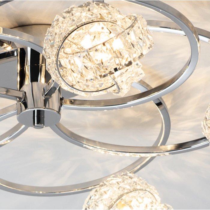 Talya – 3 Light Clustered Glass Ceiling Light