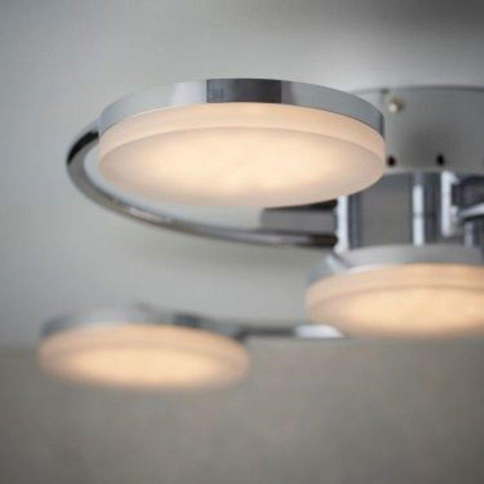 Turku – Chrome Plated LED 6 Light Semi - Flush Light