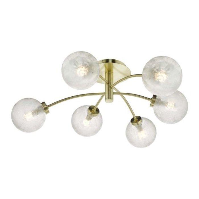 Ava – Semi Flush Ceiling Light with Glass Globes