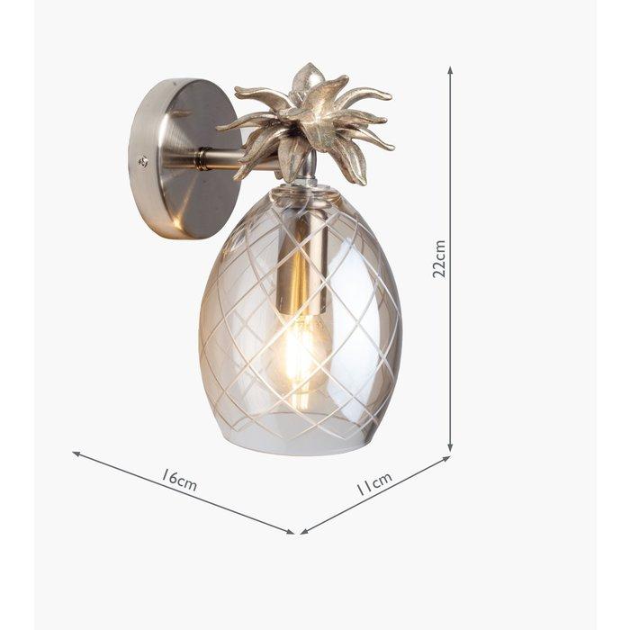 Pineapple – Cut Glass Wall Light – Laura Ashley