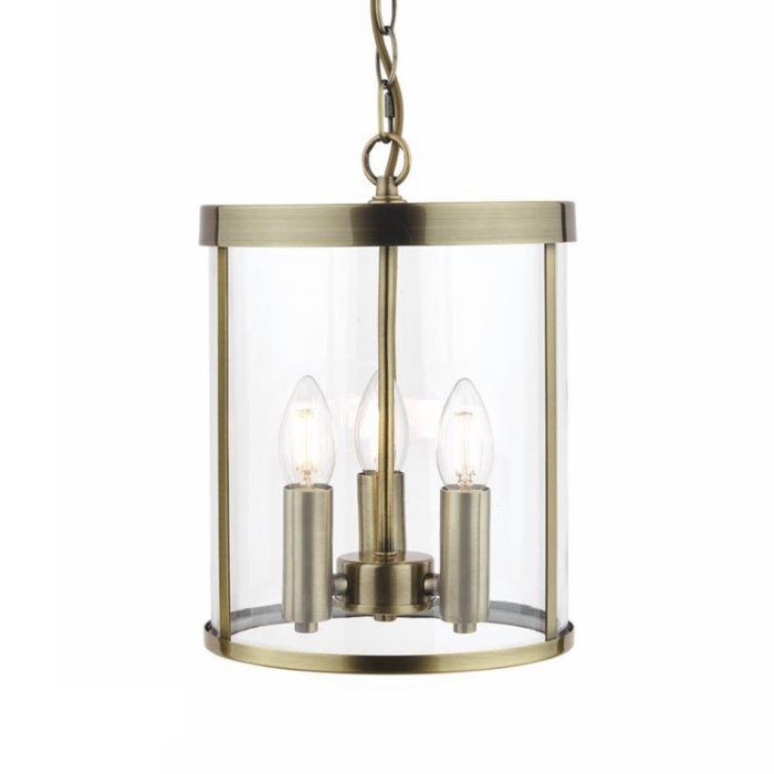 Selbourne – Antique Brass Lantern Ceiling Light – Laura Ashley