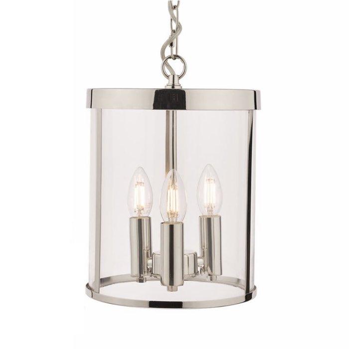 Selbourne – Polished Nickel Lantern Ceiling Light – Laura Ashley