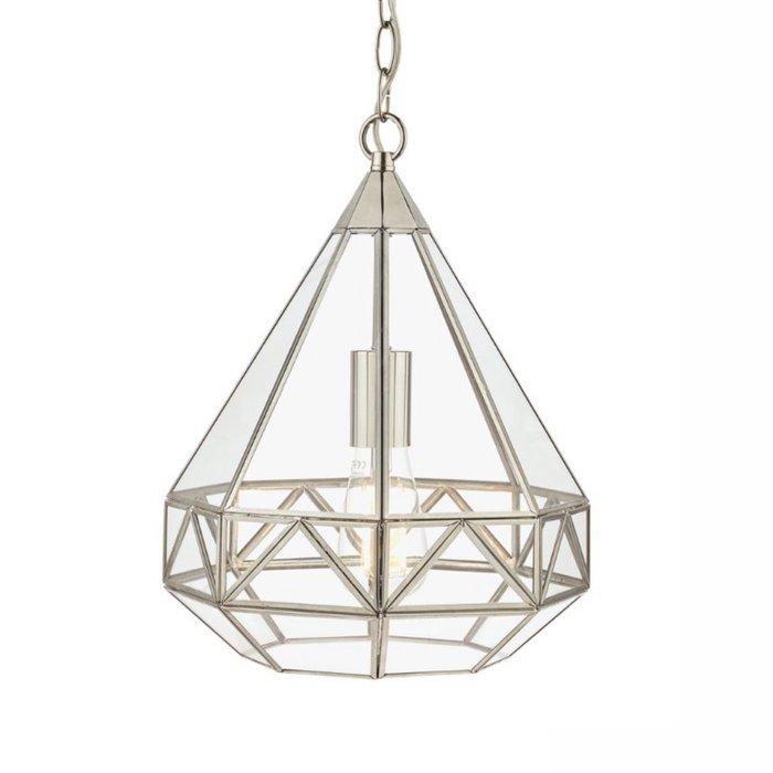 Zaria – Beautiful Polished Nickel Pendant Light – Laura Ashley
