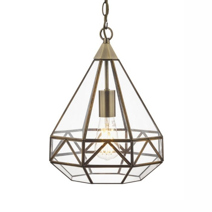 Zaria – Timeless Antique Brass Pendant Light – Laura Ashley