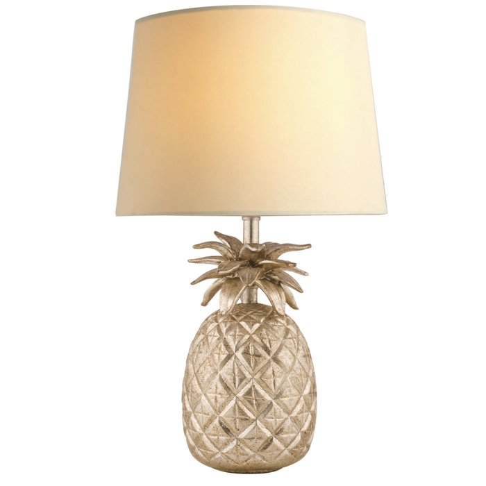 Pineapple - Cut Glass Table Lamp with Shade – Laura Ashley