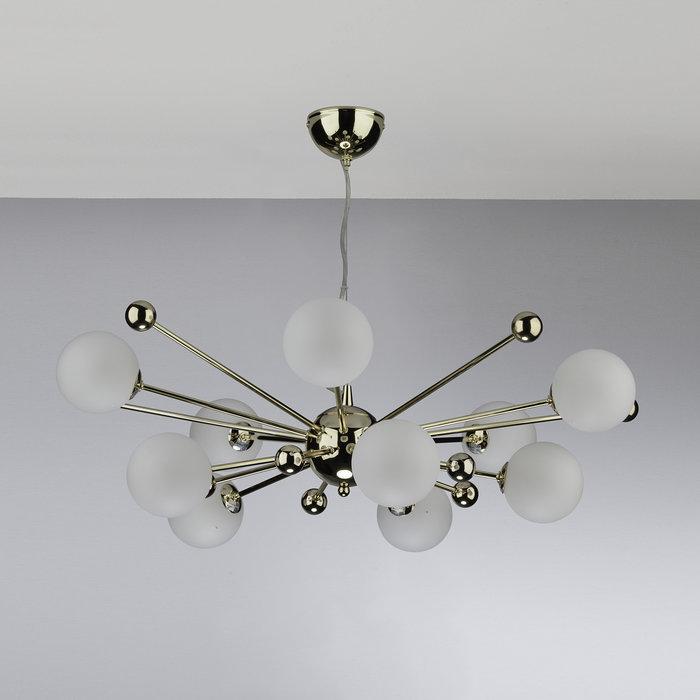 Argento - Opal Glass Sputnik Feature Pendant