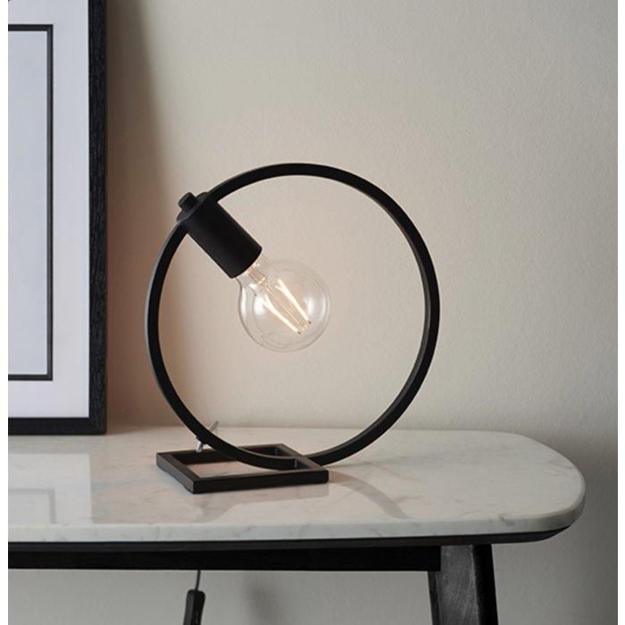 Esslinger - Circle Table Lamp in Black