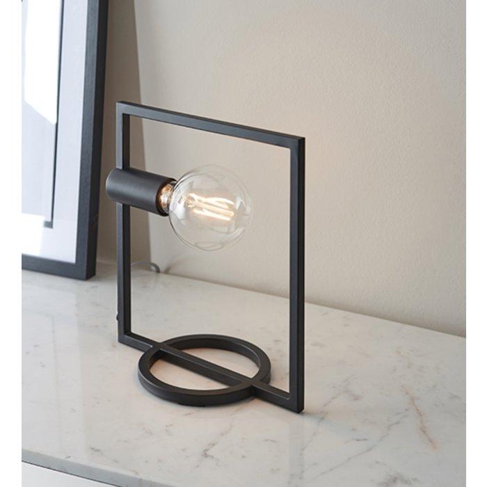 Esslinger - Rectangle Table Lamp in Black