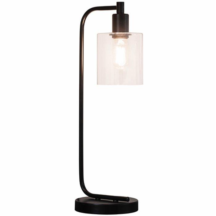 Nico - Modern Industrial Table Lamp in Black