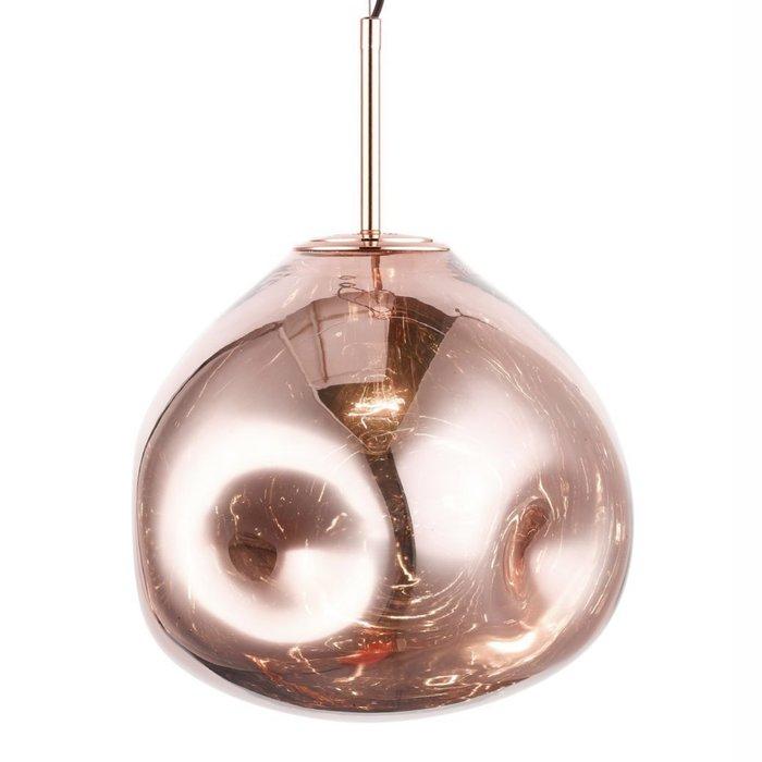 Nina - Large Copper Melt Pendant Light