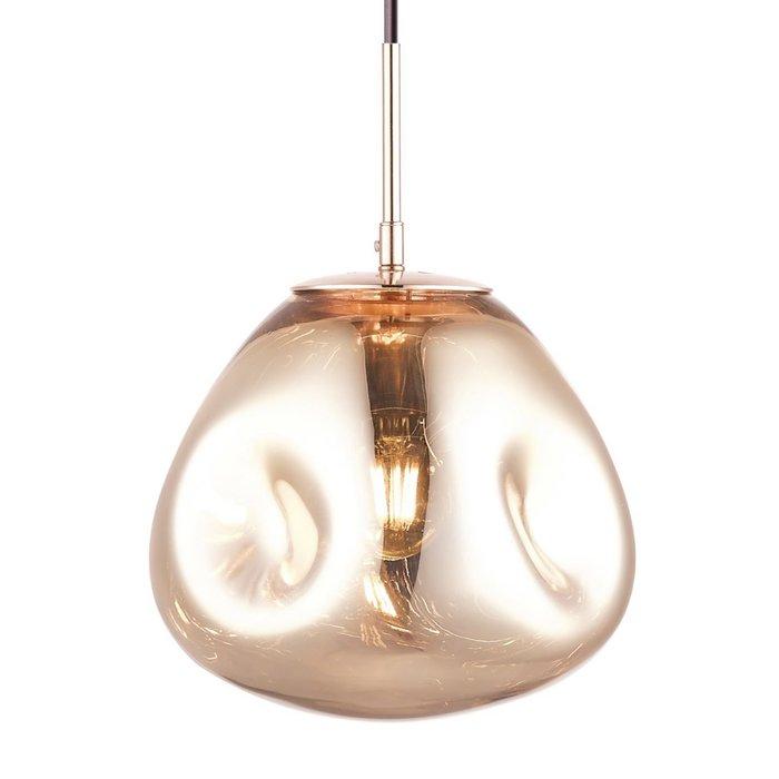 Nina - Medium Gold Melt Pendant Light