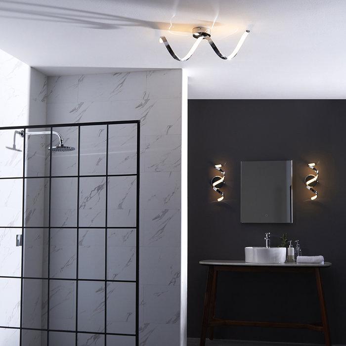 Astral - Semi Flush LED Ceiling Light