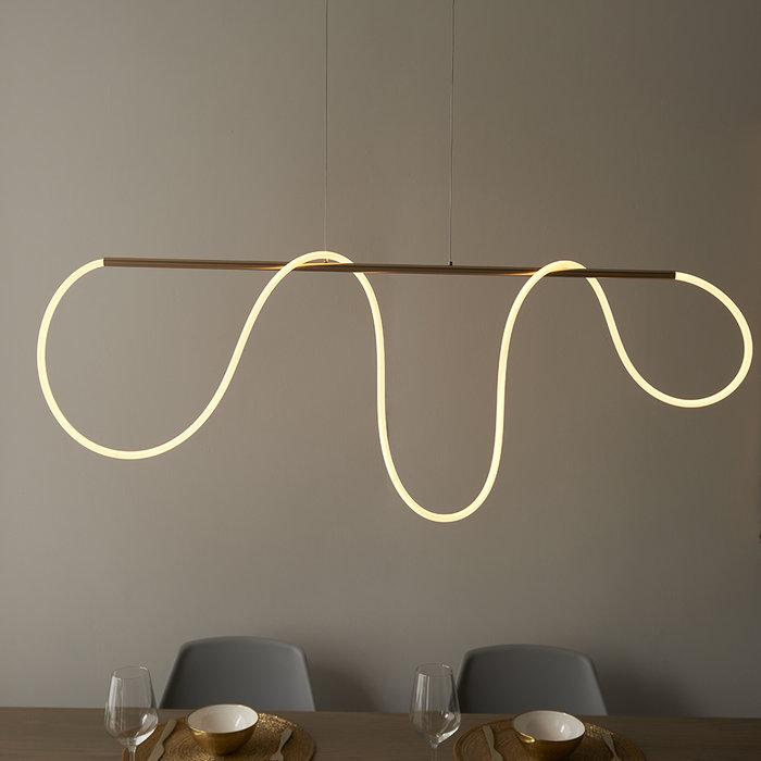 Attalea - Contemporary Linear Pendant Light