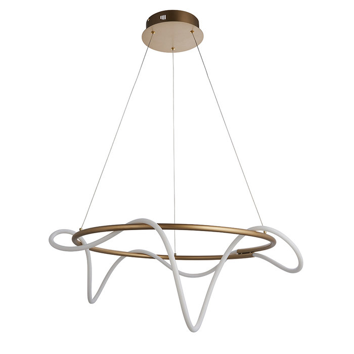 Attalea - Gold and LED Pendant Light