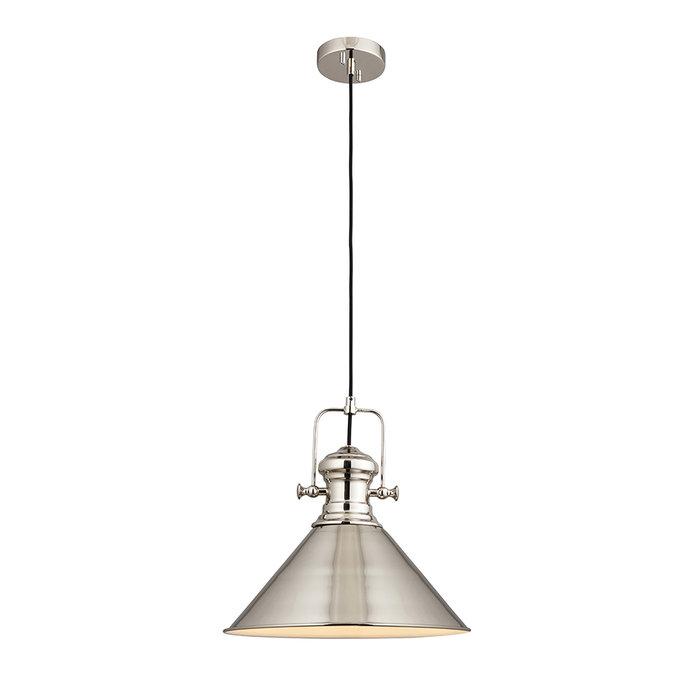 Brampton - Nickel Industrial Pendant Light