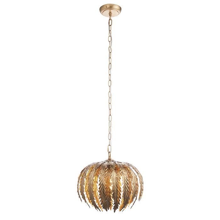 Delphine - Small Gold Pendant Light