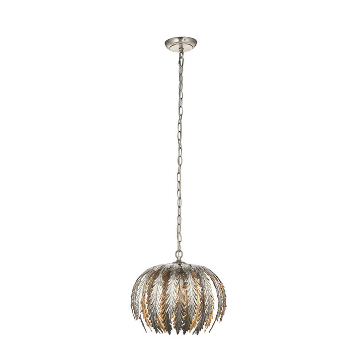 Delphine - Small Silver Pendant Light
