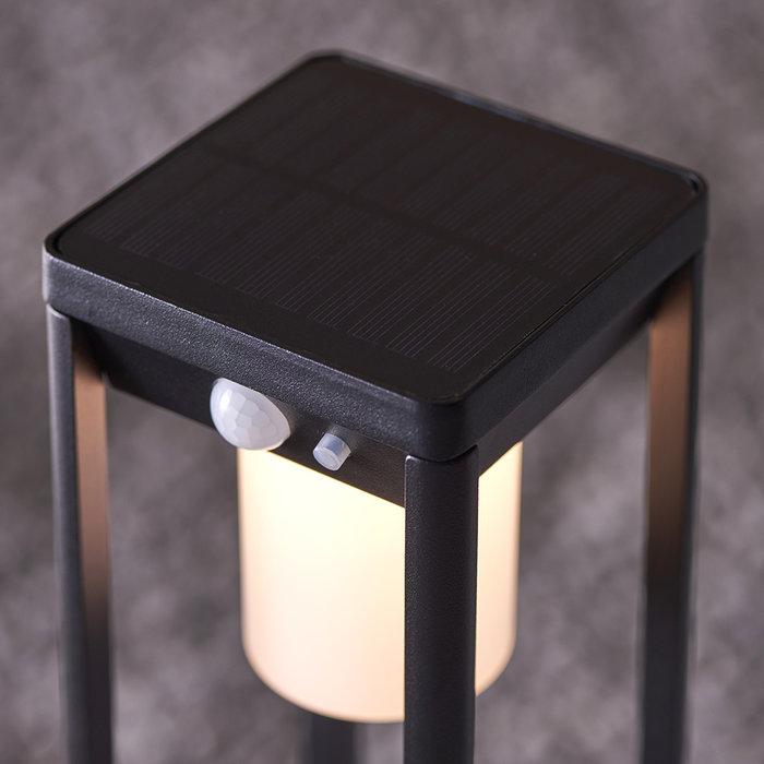Hallam - Small Solar Powered Outdoor Bollard with Motion Sensor