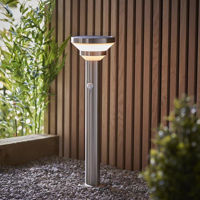 Halton - Outdoor Solar-Powered Post with Motion Sensor