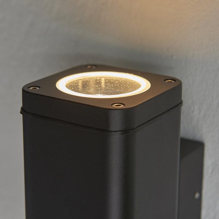 Milton - Outdoor 2 Light LED Wall Light