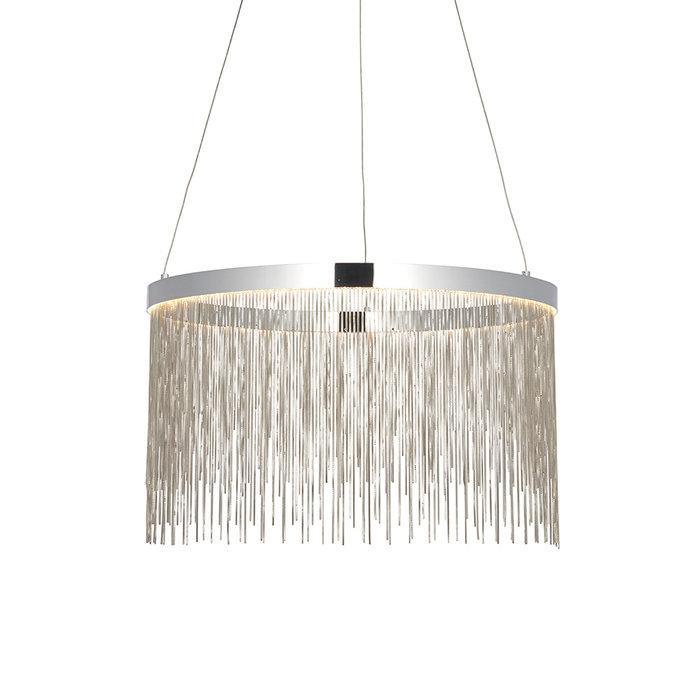 Zelma - Silver and Chrome Pendant Light