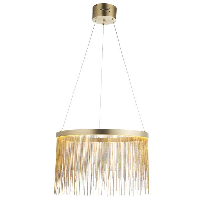 Zelma - Gold and Brass Pendant Light