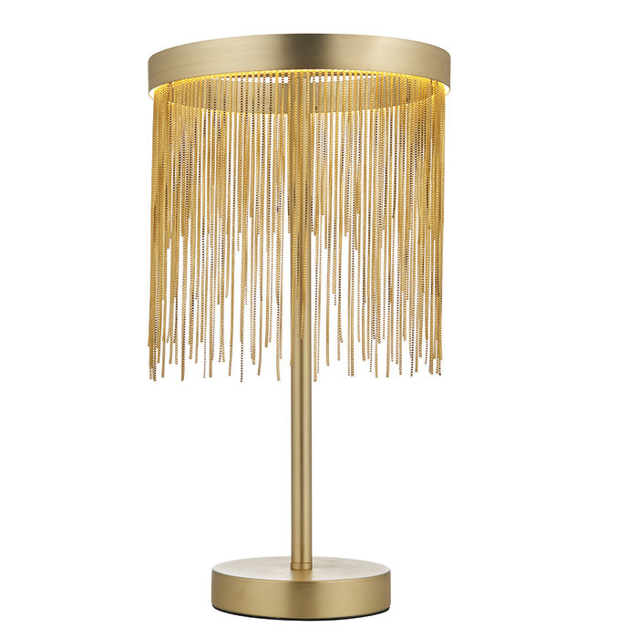 Zelma - Brass and Gold Table Lamp