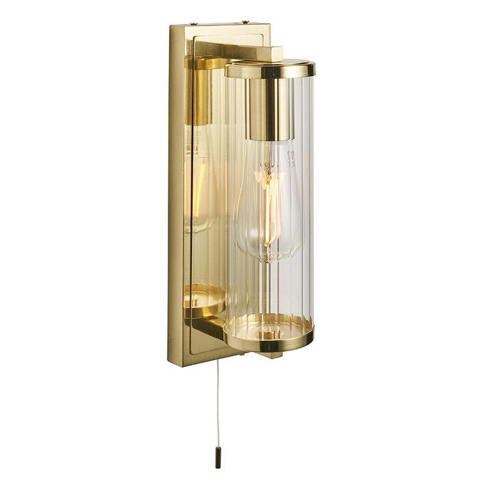 Gowland - Satin Brass Wall Light