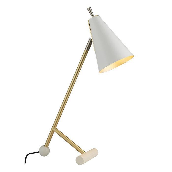 Ladhill - Mid Century Matt White Task Light