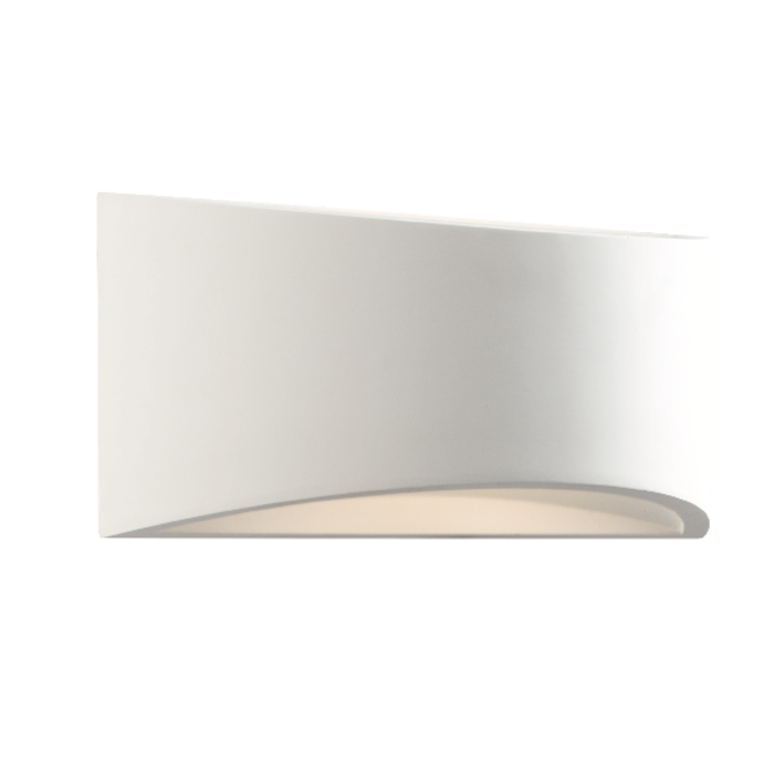 Toko - LED Plaster Curved Wall Light