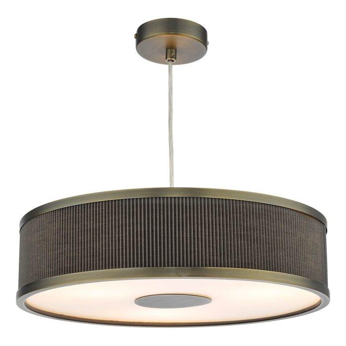Alvaro 3 Light Single Pendant Light - Antique Bronze Mushroom