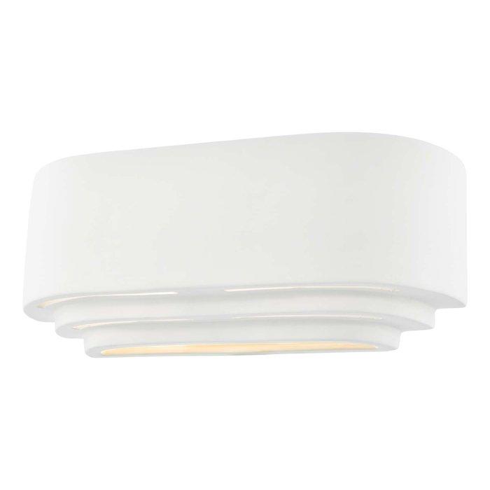 Lando 1 Light Wall Light - Washer White