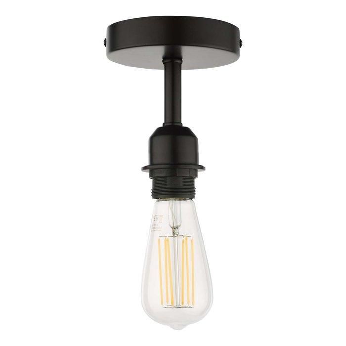 SF0122 1 Light Semi Flush Suspension - Bracket Matt Black