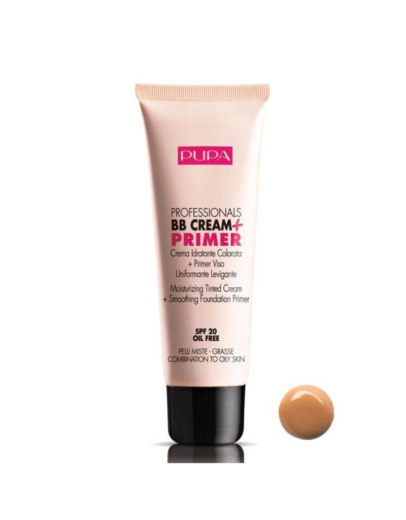 PUPA BB Cream + Primer SPF 20