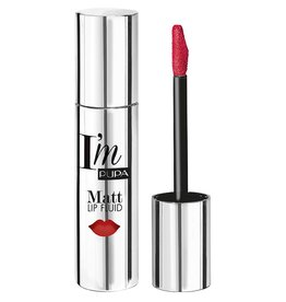 PUPA I`M Matt Lip Fluid - 034 Intense Coral