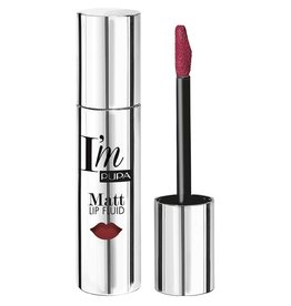 PUPA I`M Matt Lip Fluid - 074 Dark Pink