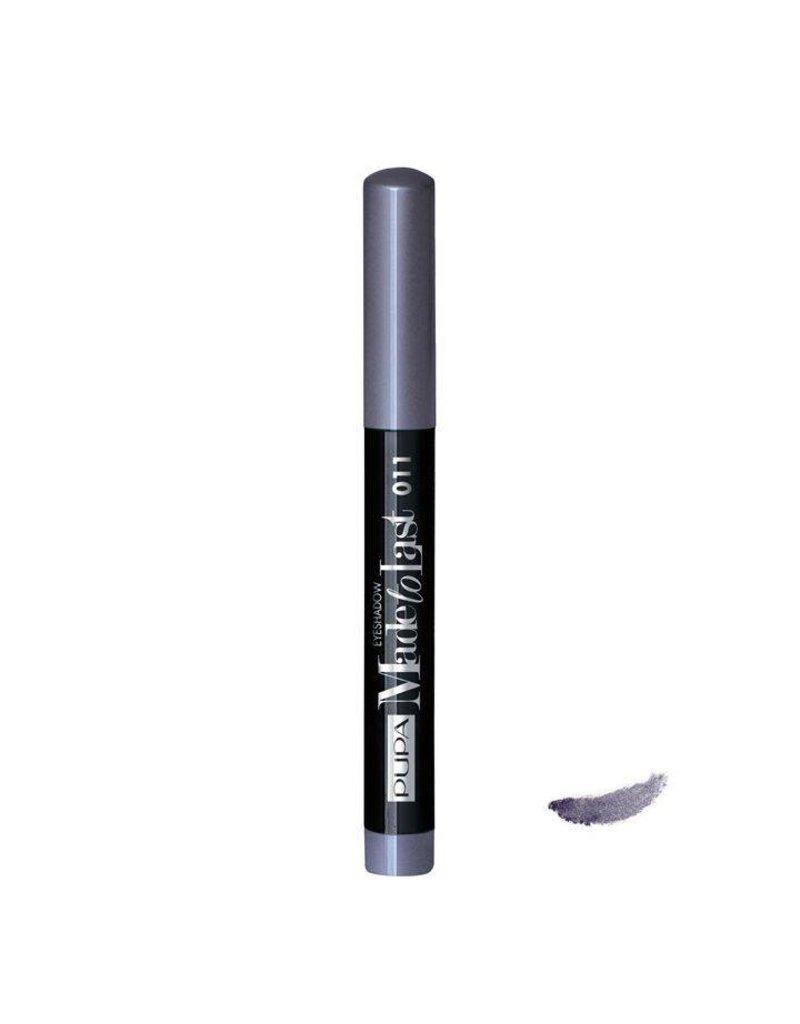 PUPA Made to Last Eyeshadow Waterproof - 011 Metal Grey
