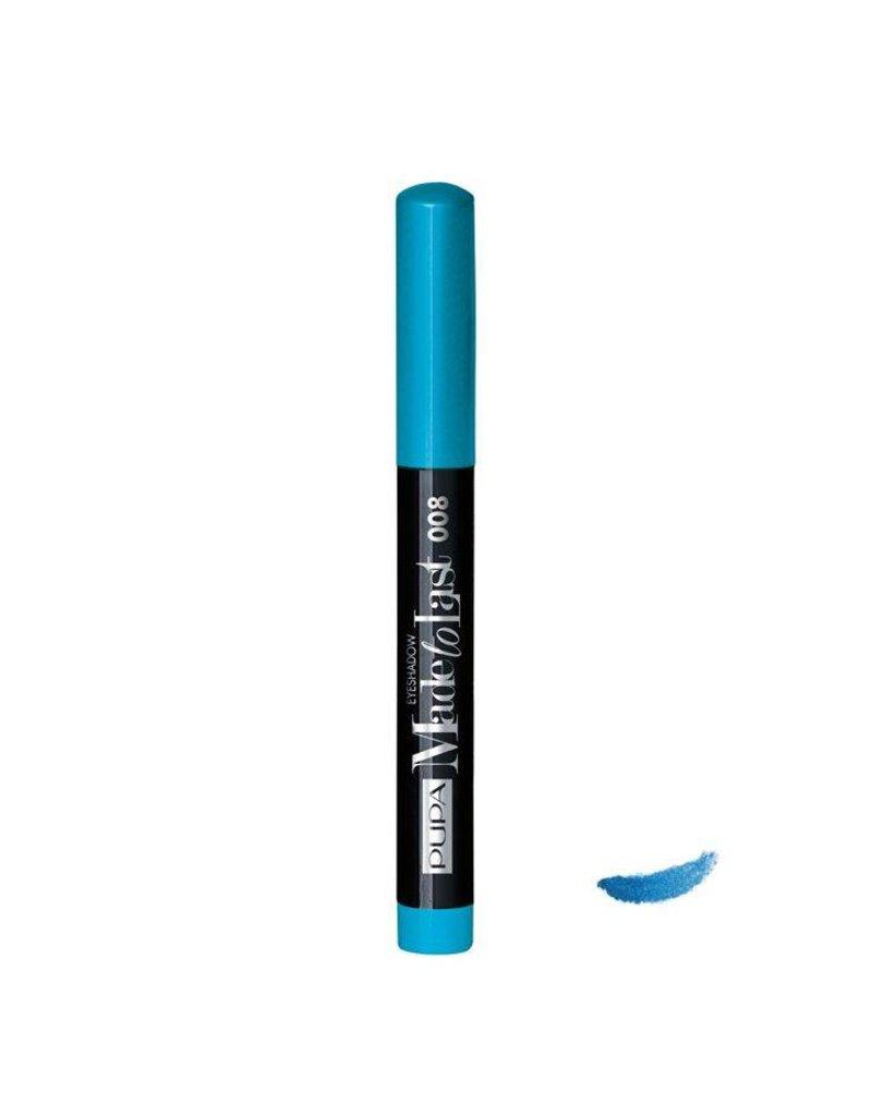 PUPA Made to Last Eyeshadow Waterproof - 008 Pool Blue