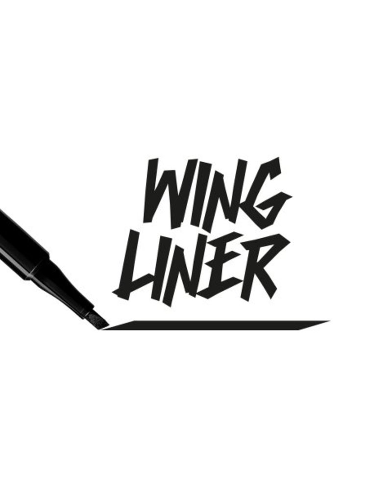 PUPA   Wing Eyeliner 001 - Black