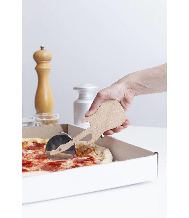 Kikkerland Pizzasnijder Gitaar