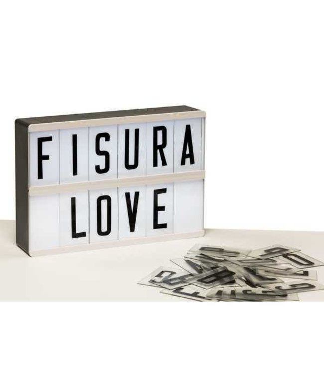 Fisura Lightbox A5 + 105 letters & nummers