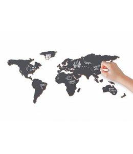Luckies Krijtbord 'Wereld'