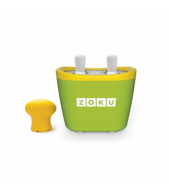 Zoku Quick Pop Maker Duo groen