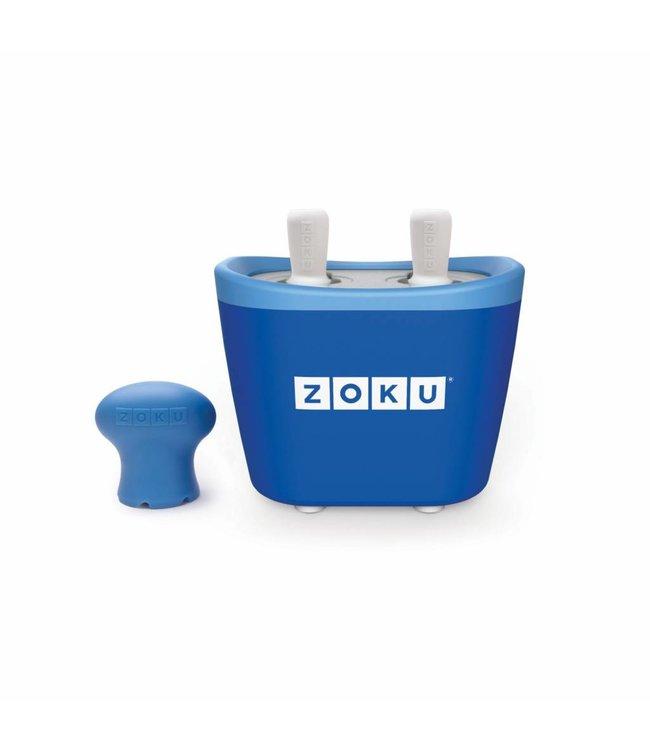 Zoku Quick Pop Maker Duo blauw