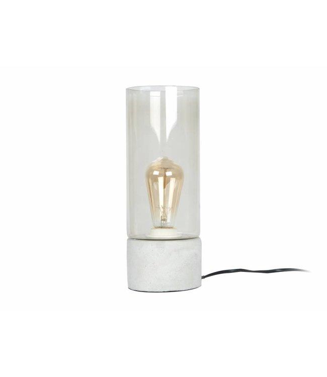 Leitmotiv Tafellamp Lax cement incl. lamp