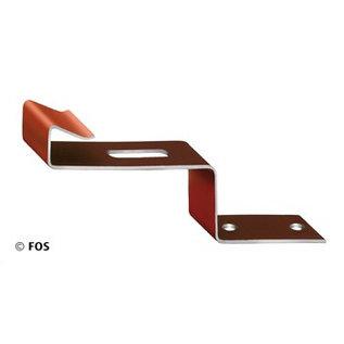vorsthaak 470/117 aluminium bruin (doos à 50 stuks)